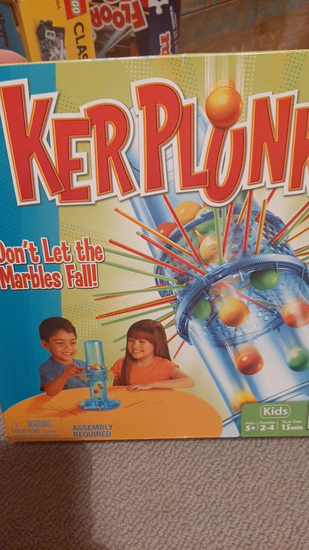 Kerplunk kids game