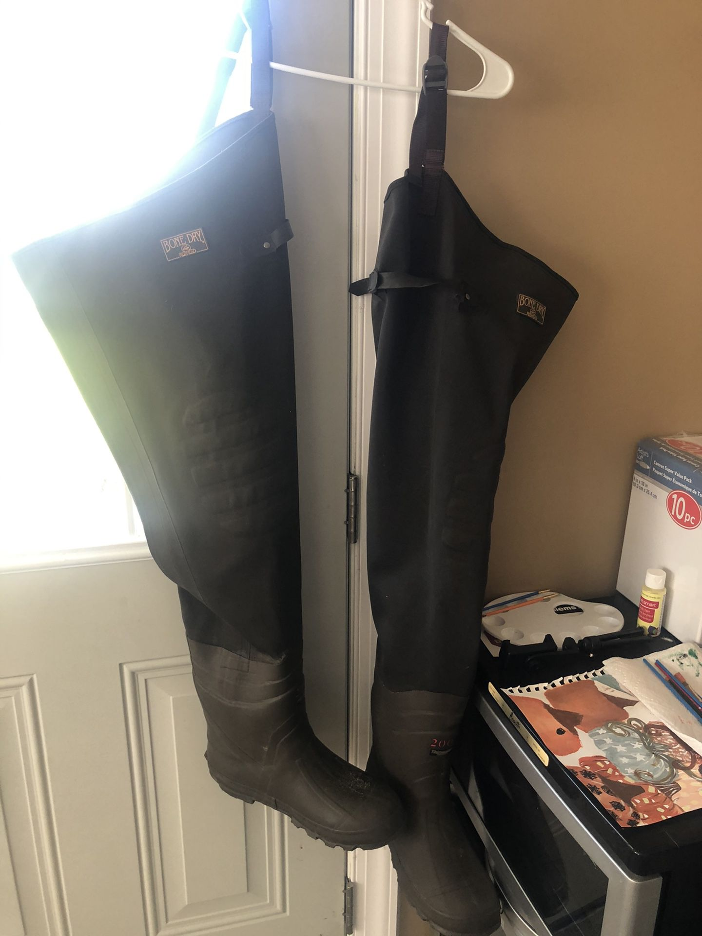 Red Head Hip Boots