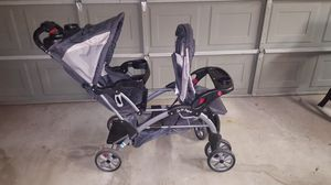 Double stroller baby trend for Sale in Sacramento, CA