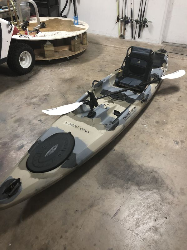 12 Foot Eagle Talon Kayak By Field And Stream For Sale In Fort Worth