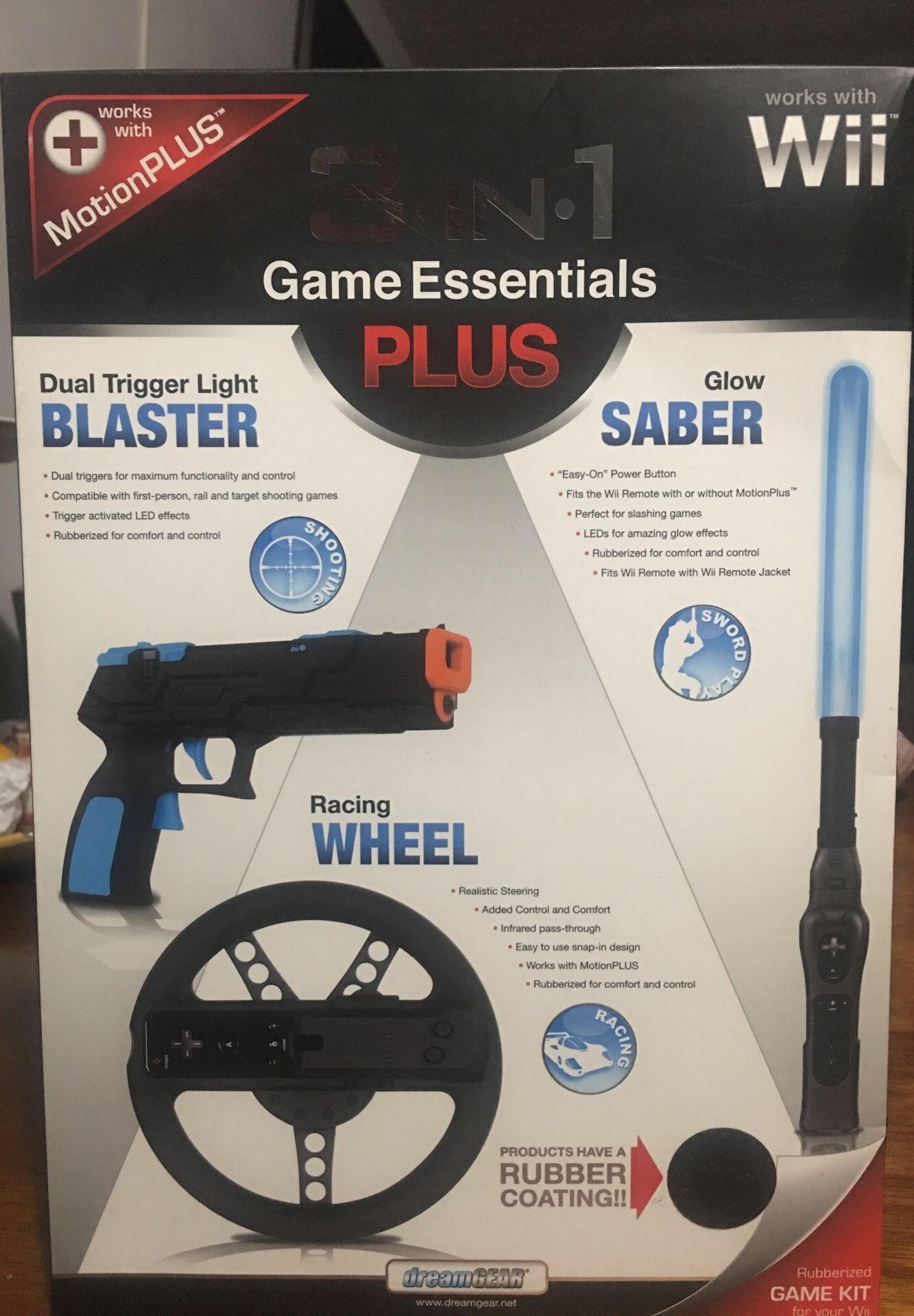 3 in 1. Game Essentials Plus