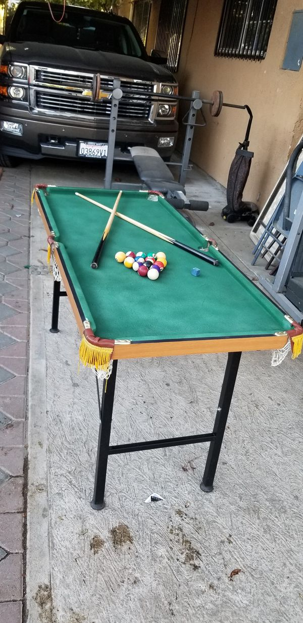 Apartment Size Pool Table 60