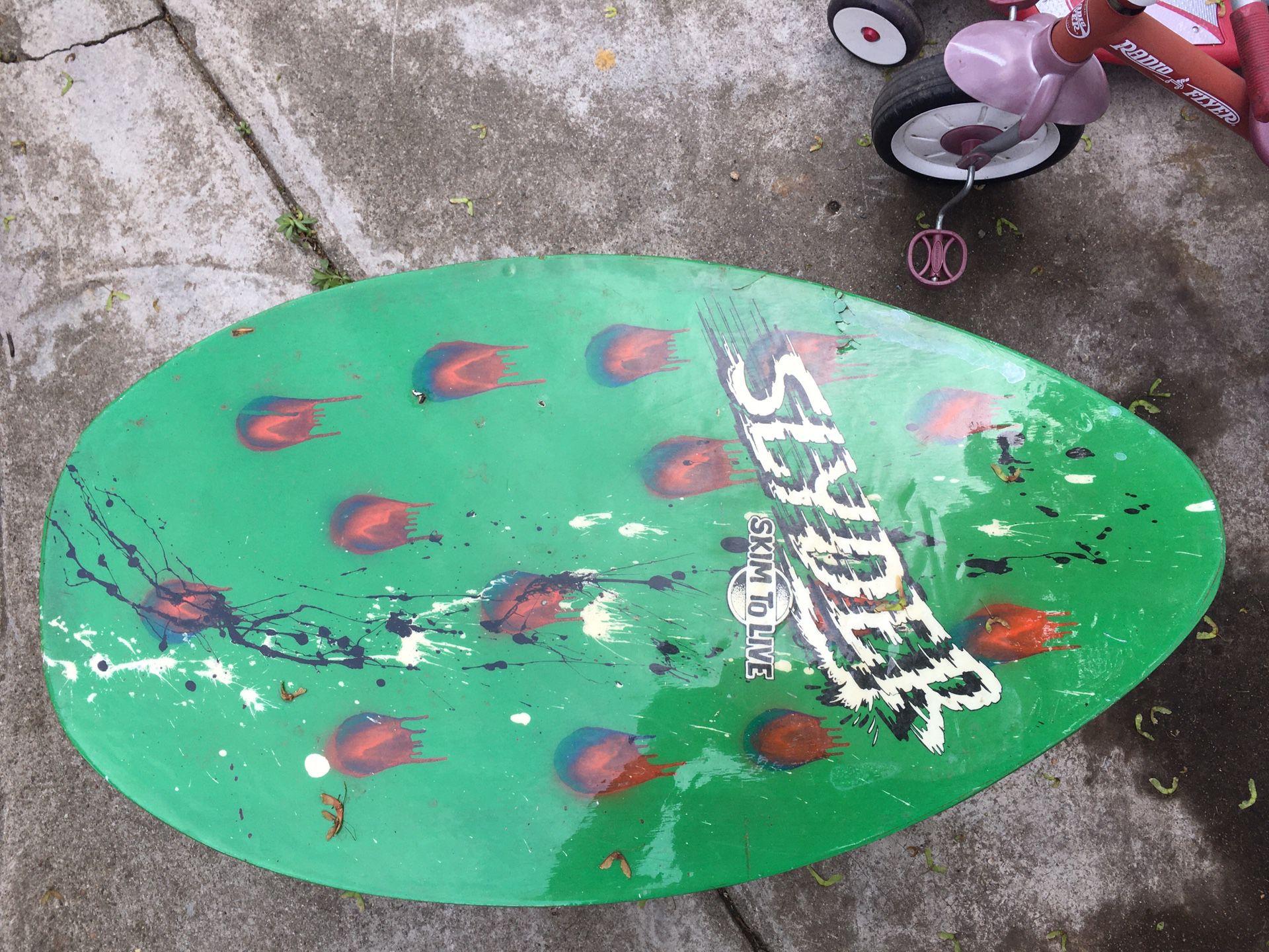 Boogie board coffee table