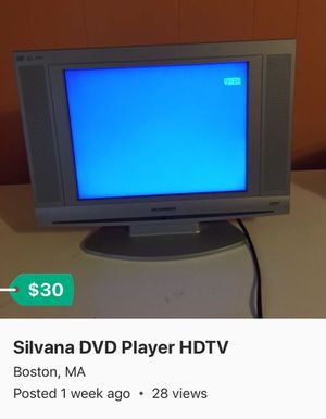 DVD Player HDTV for Sale in Boston, MA