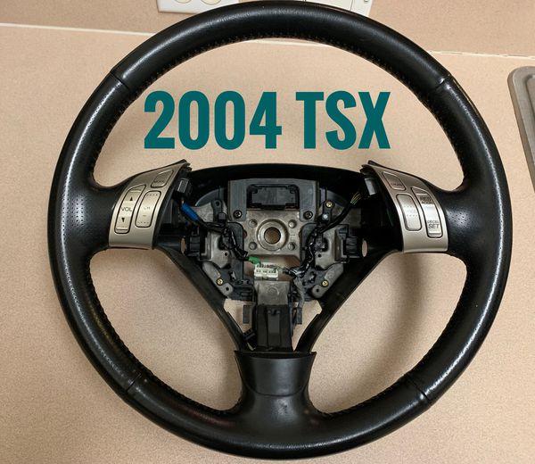 2004 2005 Acura TSX Factory OEM Steering Wheel Black