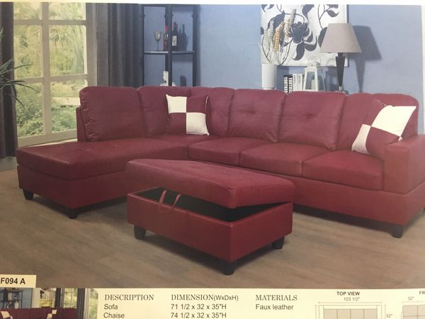 Sams Furniture Includes Ottoman For Sale In North Highlands Ca