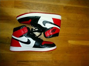 Bred toe 1s sz 12 for Sale in Potomac, MD