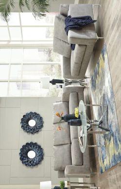 Ryler Steel Living Room Set /# sofa & loveseat . Thumbnail