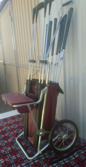 Ajay Parkridge deluxe golf caddy for Sale in Fresno, CA