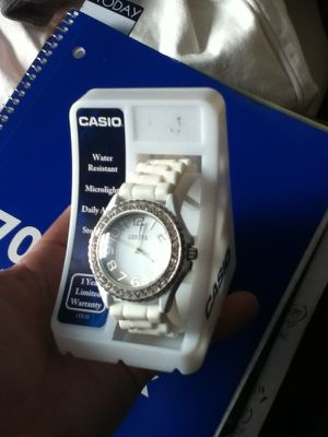 white wrist watch for Sale in Tacoma, WA