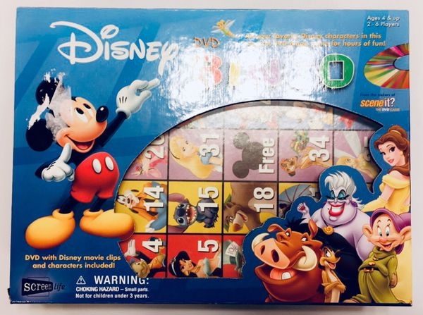 Disney DVD Bingo (Movie Characters, Toy/Board Game)! for Sale in Orlando,  FL - OfferUp