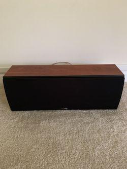 Polk Audio CS2 ll Monitor TSI Cherry center channel speaker Thumbnail