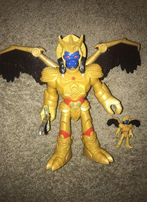 Goldar Figurine toy w/ mini figurine for Sale in Alexandria, VA