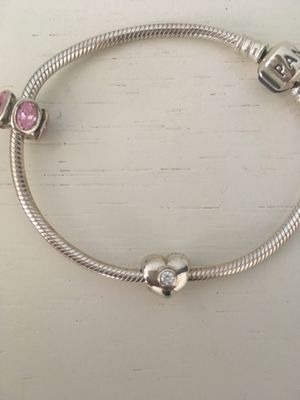 Pandora Bracelet with 2 charms for Sale in Arlington, VA