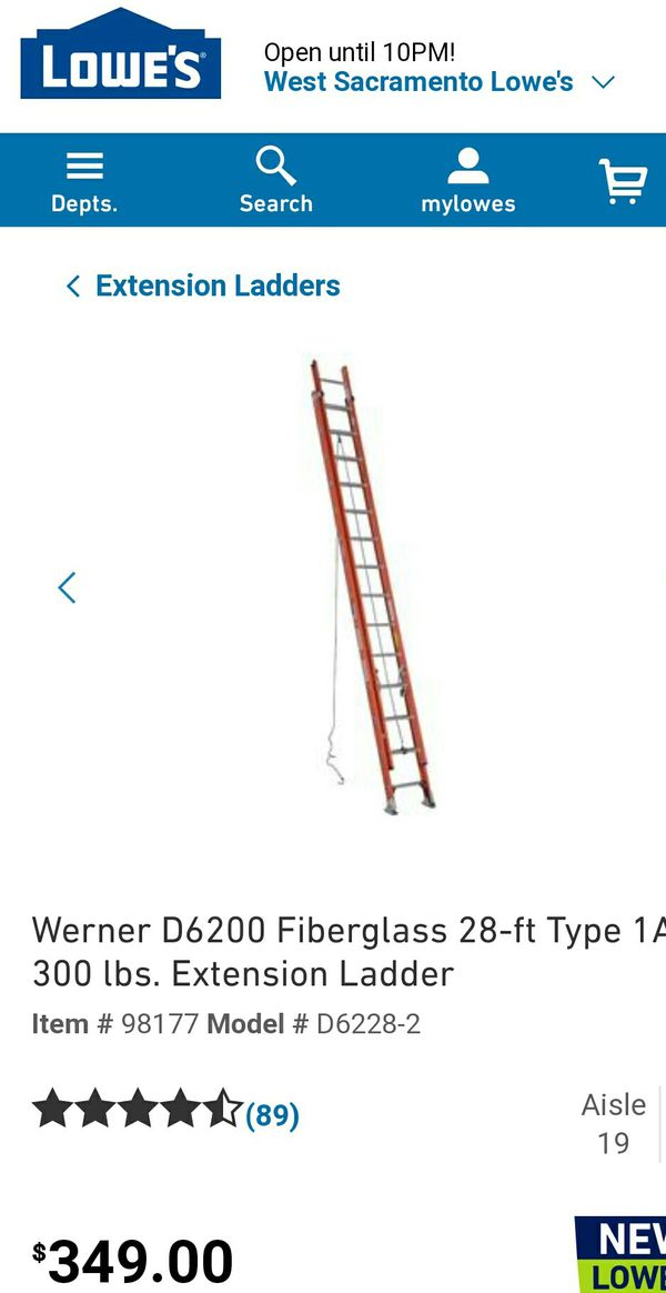 New and Used Ladder for Sale in Rancho Cordova, CA - OfferUp