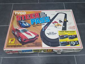 RARE Tyco Steer & Pass slot car set for Sale in Tampa, FL