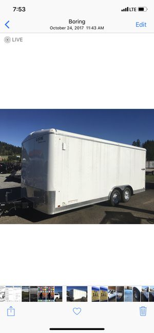 New And Used Enclosed Trailers For Sale In Portland Or Offerup