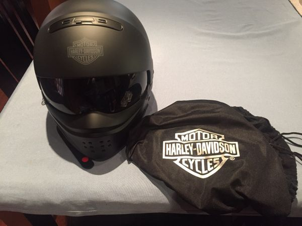 Harley Davidson Pilot 3 In 1 X04 Helmet Size Large Brand New No Low