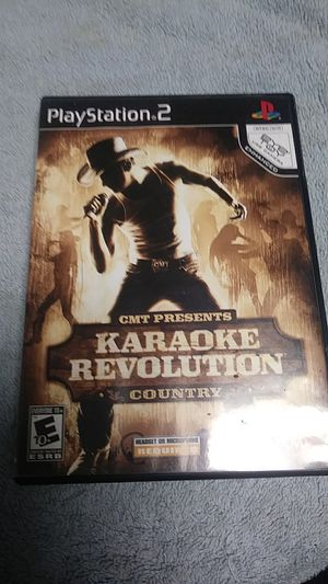 PS2 CMT Presents Karaoke Revolution Country for Sale in Homosassa Springs, FL