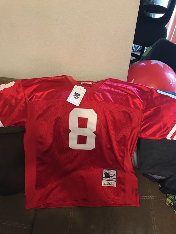best loved 16aa4 21059 1994 Mitchell & Ness Steve Young 49ers Jersey- New with tags for Sale in  Fairfield, CA - OfferUp