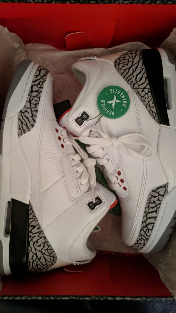d800e1942f8 Nike Air Jordan 3 White Cement 2011 Size 8 for Sale in Boston, MA - OfferUp