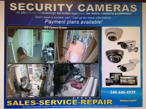 Security Camera Installation for Sale in Silver Spring, MD