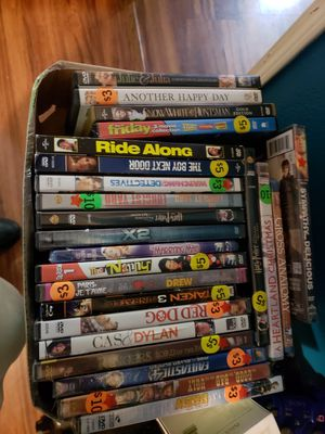 Box of dvds for Sale in Willow Spring, NC