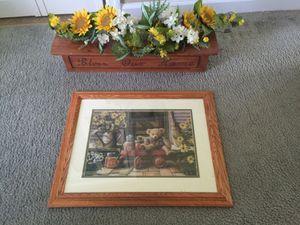 Kitchen sunflower picture set for Sale in Richmond, VA