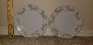 Set of Vintage Tiny Rose Motif Design Dessert Plates for Sale in Woodbridge, VA