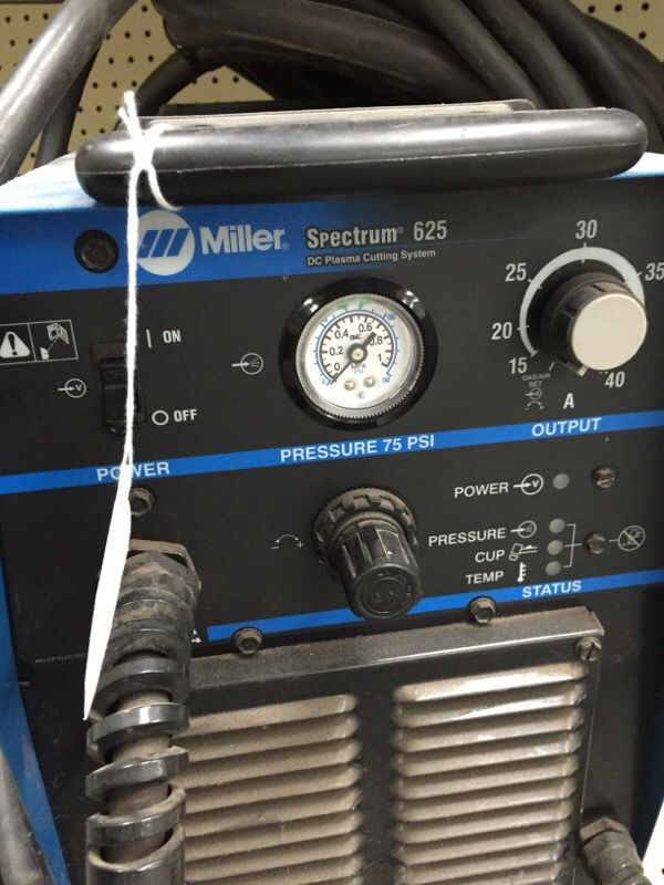 Miller Spectrum 625 >> Miller Spectrum 625 Dc Plasma Cutter For Sale In Katy Tx