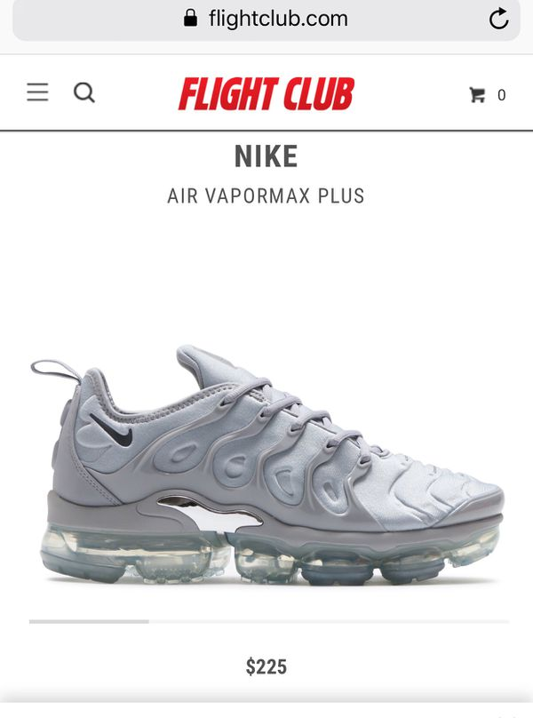 newest 887be 1b433 Nike Vapormax Plus Wolf Grey for Sale in Queens, NY - OfferUp