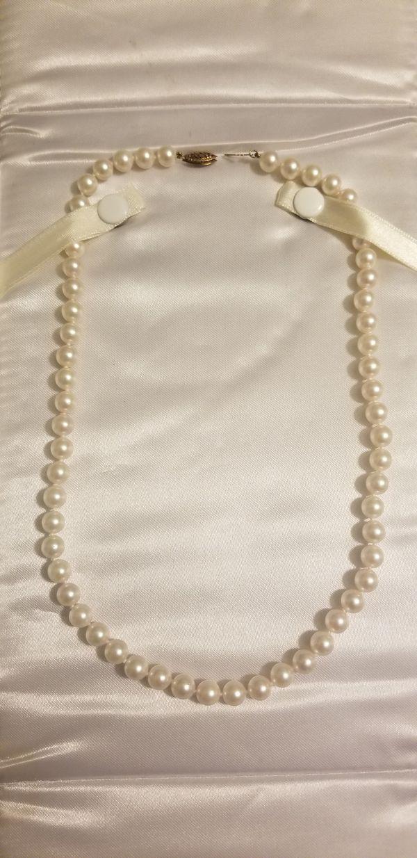 Michael C. Fina Pearl Necklace