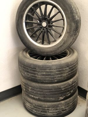 Used Rims For Sale Near Me >> Rims And Tires 24 Inch 245 30 24 Bolt Pattern 5x115 For Sale In Wichita Ks Offerup