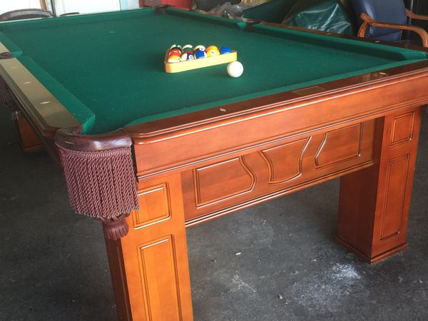 Beautiful Pool Table For OBO For Sale In Santa Ana CA OfferUp - Santa ana pool table