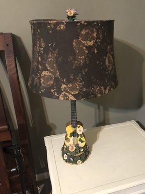Guitar Lamp & Shade for Sale in Acworth, GA