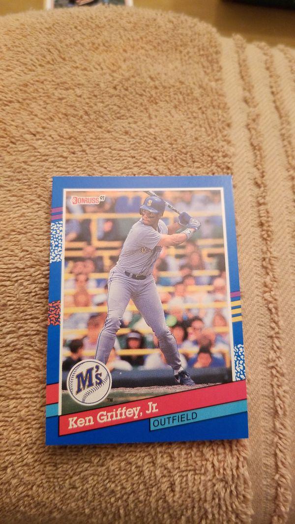 8ef2dfe96f 1991 Donruss Ken Griffey jr. Baseball Card for Sale in Millersville ...