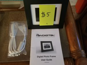 Digital picture frame for Sale in Fairfax, VA