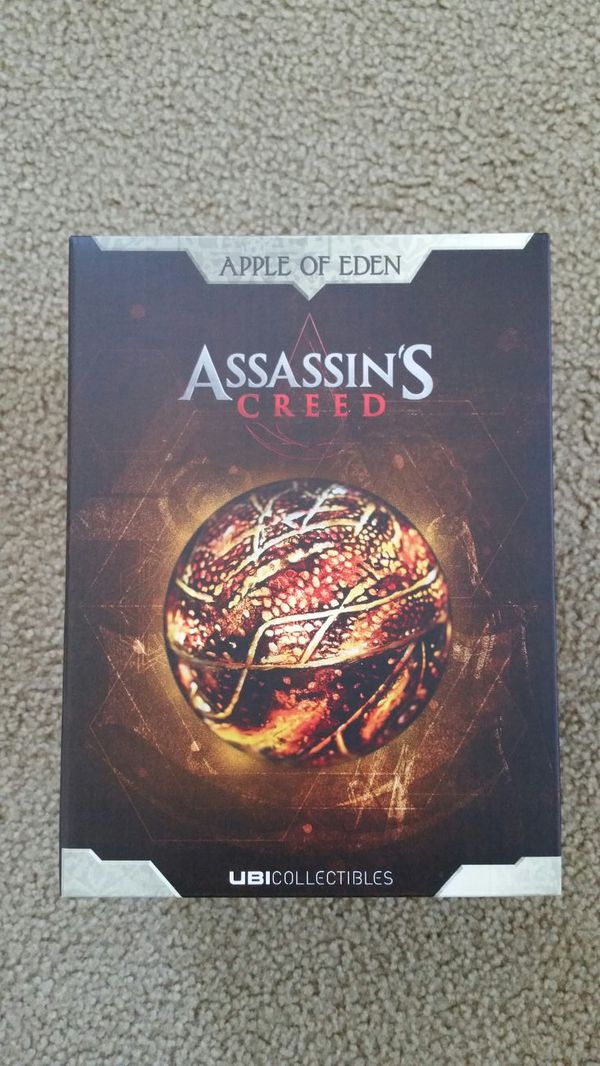 hot sale online 2ff47 0959b Apple of Eden Assassin's Creed UBI Collectible for Sale in Brentwood, CA -  OfferUp