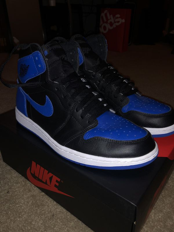 5b49453f78d07a Air Jordan 1 Retro High OG Royal 2017 Size 11 for Sale in Pearland ...