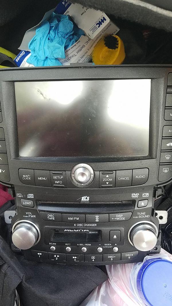2004 acura tl navigation system
