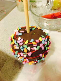 chocolate and chamoy apple Thumbnail