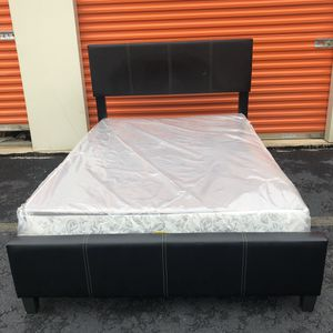 Full Size Bed Rame and Boxspring for Sale in Woodbridge, VA