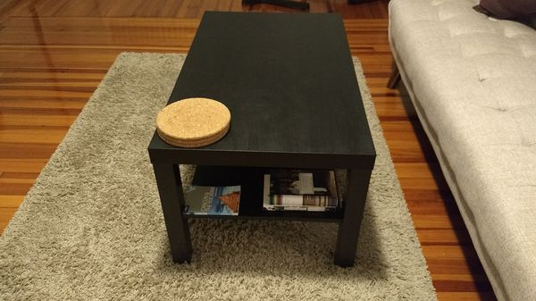 Ikea Lack Coffee Table Black Brown 35 3 8x21 5 8 For