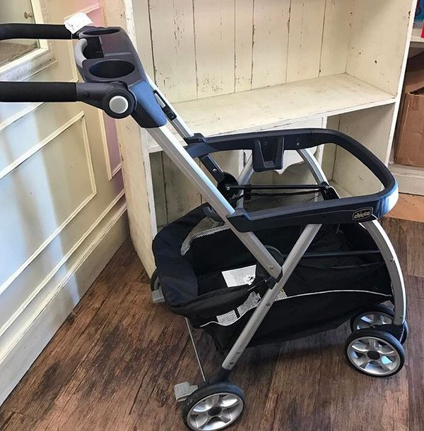 Chicco Keyfit Caddy Lightweight Aluminum Infant Car Seat Carrier Stroller For Sale In Whittier CA