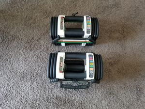 PowerBlock U-90 Stage 1 Dumbell Set (5-50LBS.) for Sale in Orlando, FL