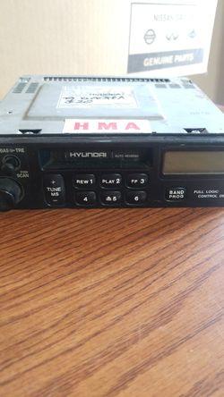1999 Hyundai Elantra stereo Thumbnail