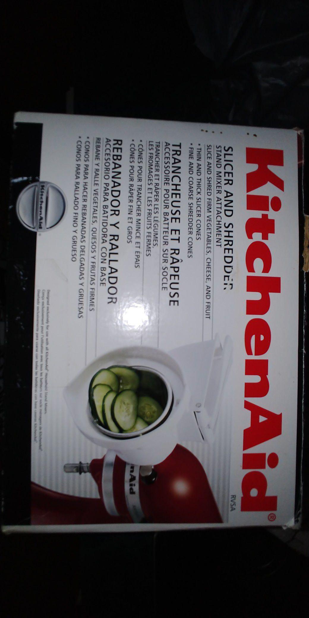 New Kitchenaid Slicer Shredder