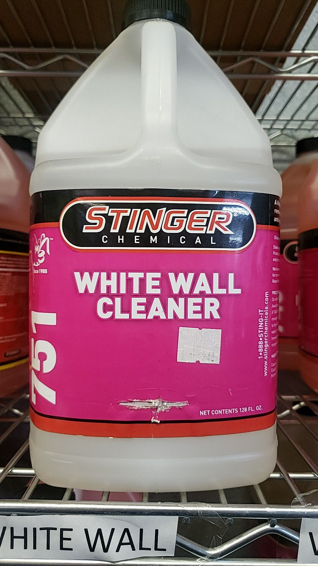 1 gallon white wall cleaner