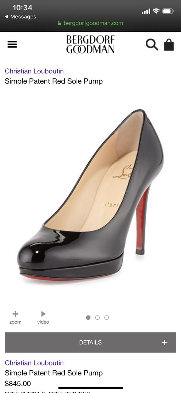 buy popular 516cc a9a64 New and Used Christian louboutin heels for Sale in Virginia ...