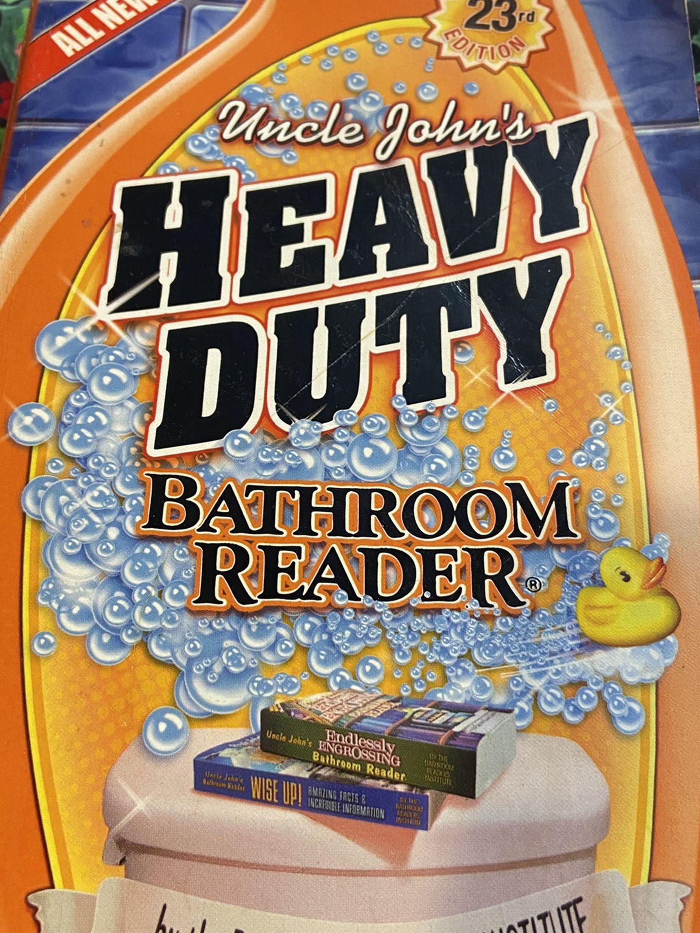 Heavy Duty Bathroom Reader~Paperback Book